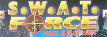 SWAT Force Air Dart Gun Package Title