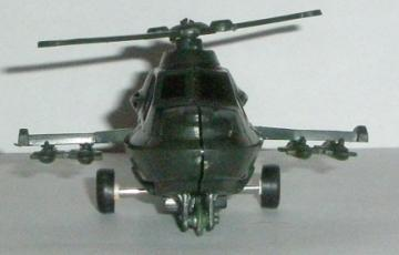 Toy Helicopter Front View
