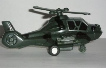 Toy Helicopter Side View