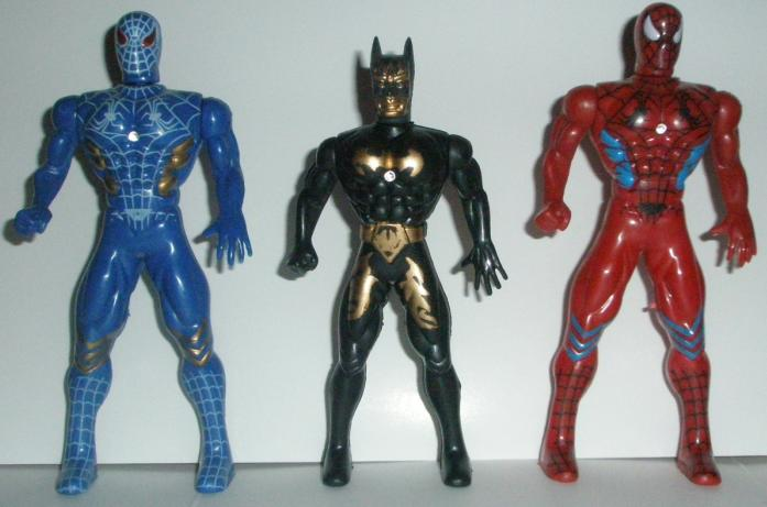 Batman and City Nimrod action figures