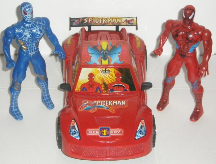 City Nimrods with the Spiderman Car