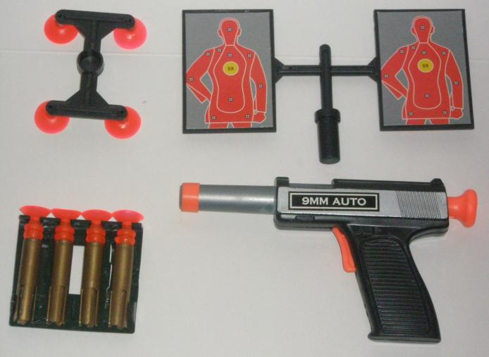 SWAT Air Dart Gun 9mm Set