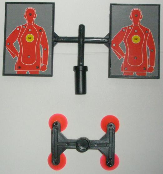 SWAT Air Dart Gun Target Pieces