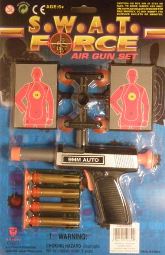 SWAT Air Dart Gun Package