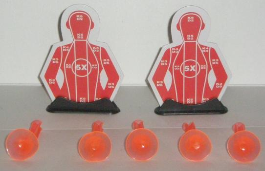 Darts and Targets for the Dart Shotgun