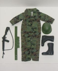 11 Inch Army Guy's New Clothes and Gear