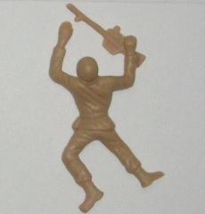 Crawling Brown Army Guy