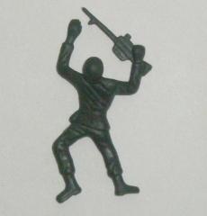 Crawling With Gun Green Army Guy