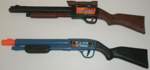 Dart Sniper Rifle With the Dart Shotgun
