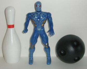 A bowling pin and bowling ball compared to the City Nimrod