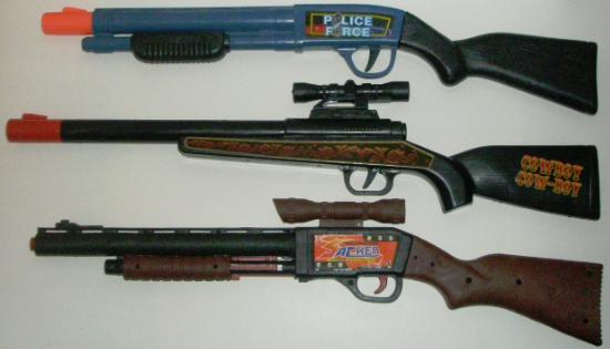 Cowboy Rifle compared to the Dart Shotgun and Dart Sniper Rifle