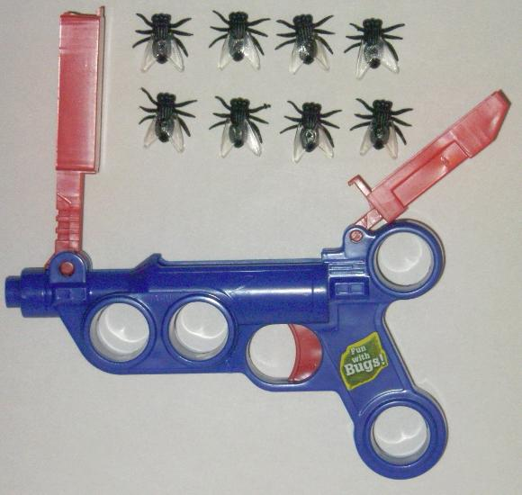 Fly Launcher with flies