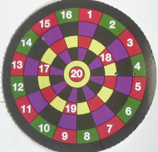 Dart Bow and Arrow Dartboard Target