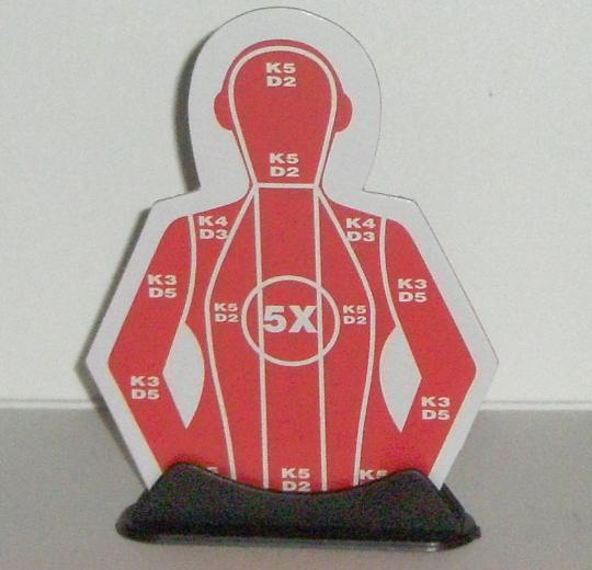 Police Force Shotgun Target
