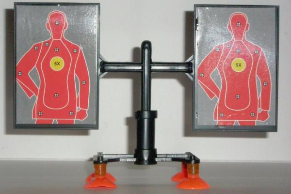 Mini SWAT Gun Spin Target