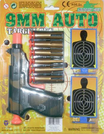 9mm Auto Military Gun