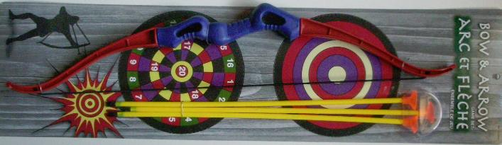 Bow With Dart Arrows