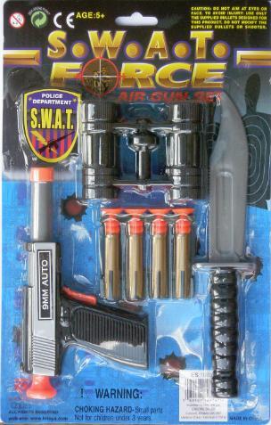 Swat Force Gun Packs Dollar Store Toy Box