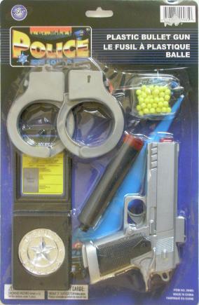 Police Squad Plastic Bullet Gun