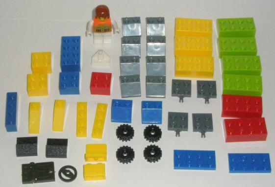 Bricks Set Lego Pack 9037 Parts