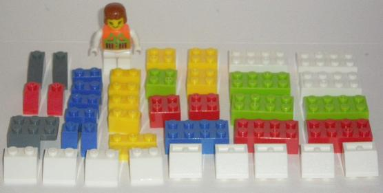 Bricks Set Lego Pack 9038 Parts