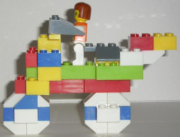 Bricks Set Lego 9038 Built