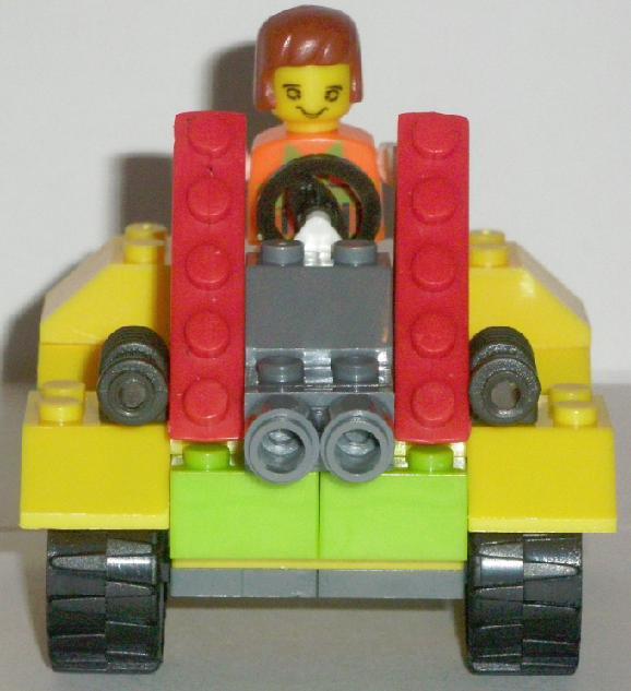 Bricks Set Lego Pack 9039 Built Front View