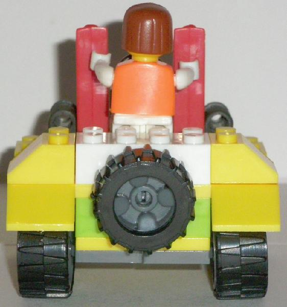 Bricks Set Lego Pack 9039 Built Rear View