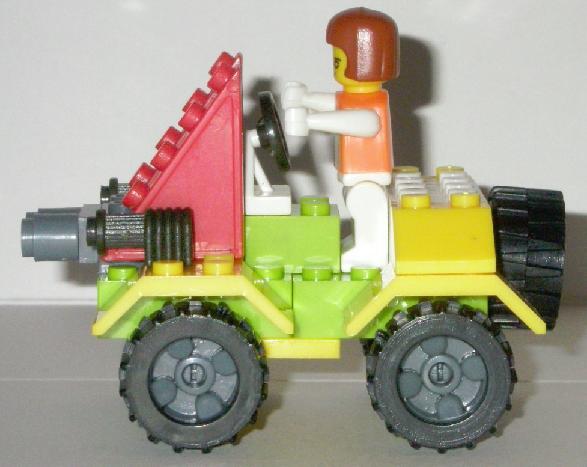 Bricks Set Lego Pack 9039 Built Side View