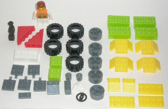 Bricks Set Lego Pack 9039 Parts