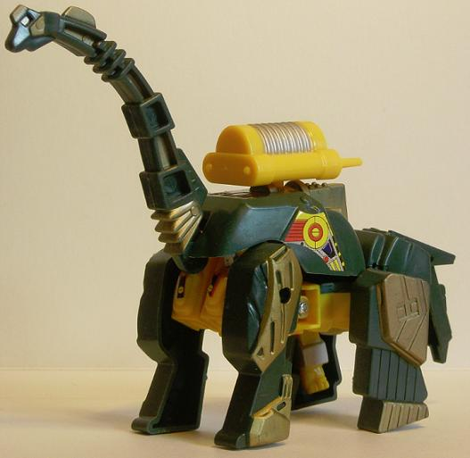 Bronto Tron in Dinosaur Form