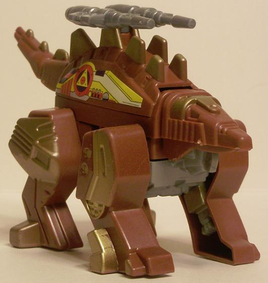 The dinosaur form of Stego Tron