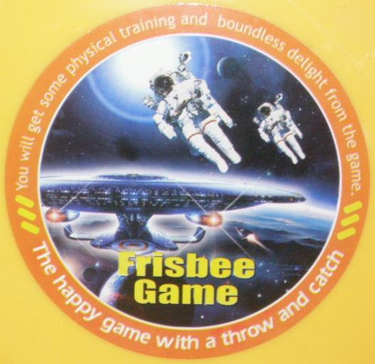 Star Trek Enterprise Frisbee Game Bad English