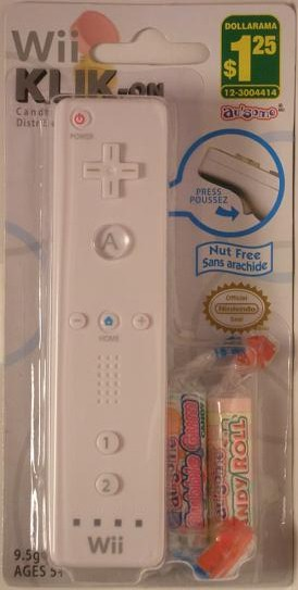 Wiimote Candy Dispenser