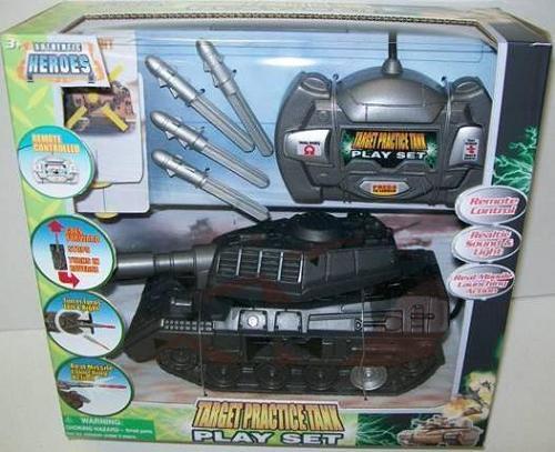 Target Practice Tank