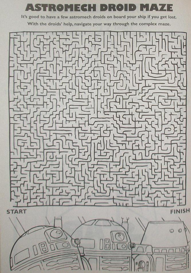 Astromech Droid Maze